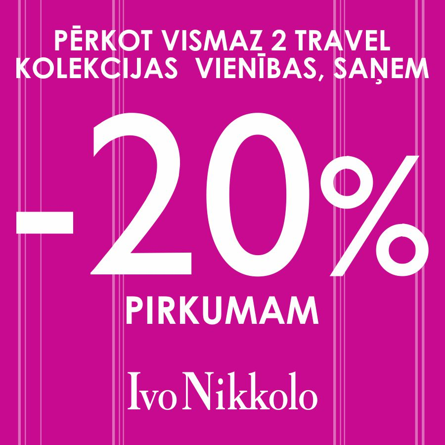 08f32578026ea1 20% off on Travel collection purchase. Purchase at least 2 items ...